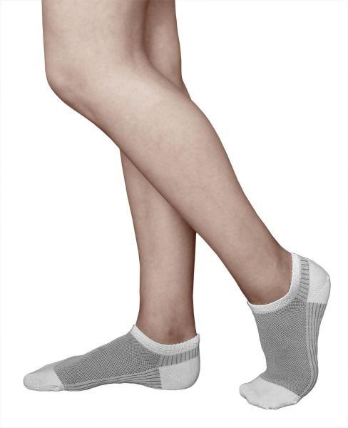 3-Pair-Pack Brethable Mercerised Cotton Trainer Socks (Women)