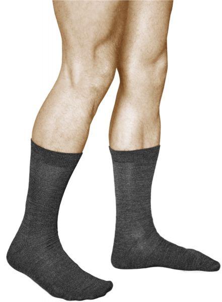 Merino Wool Business Socks Warm Grey (Men)