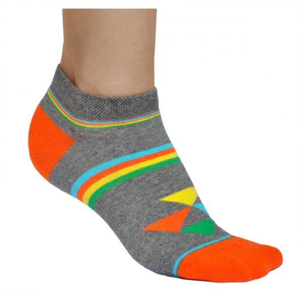Low-Cut Cotton Novelty Trainer Socks (Women)