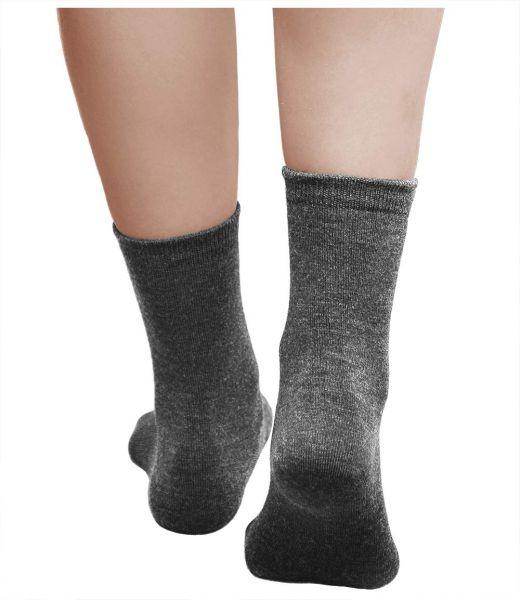 Merino Wool Socks Warm Grey (Women)